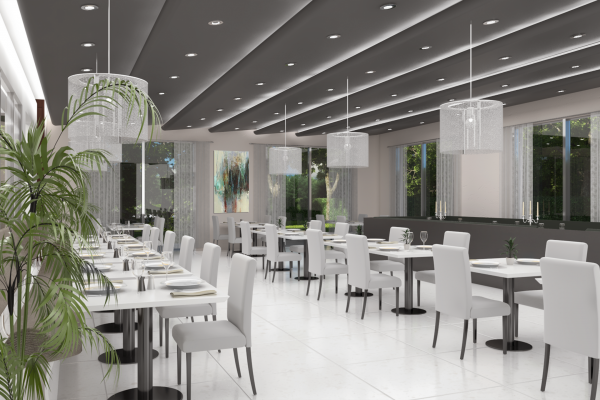 TAJ RESIDENCES Clubhouse - Dining Hall