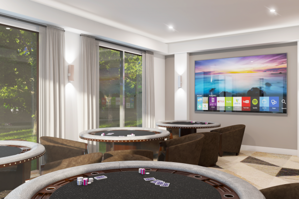 TAJ RESIDENCES Clubhouse - Gameroom